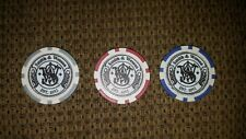 Extremely rare Smith and Wesson prototype clay poker chips