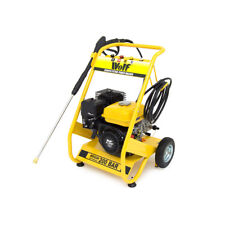 Wolf 200 BAR 3000psi 6.5HP Petrol Power Pressure Jet Washer Solid Frame