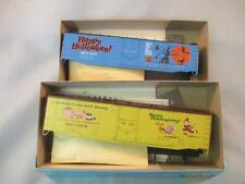 Vintage ATHEARN Trains in Miniature HO Scale 2 Kits Halloween ~Thanksgiving