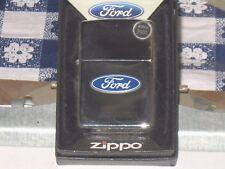 New ZIPPO Windproof USA LIGHTER 250f.957 Ford Tire Tread Blue Strips HP Chrome