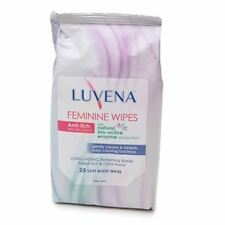 Luvena Anti-Itch Medicated Wipes, Resealable Pack 25 Each (Pack of 4)