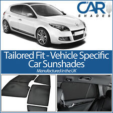 Renault Megane 5dr 2008-2016 UV CAR SHADES WINDOW SUN BLINDS PRIVACY GLASS TINT