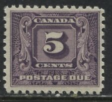 Canada 1930 5 cent Postage Due mint o.g.