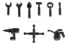 LEGO® 11402a-i Werkzeug-Sortiment 9-teilig Figuren-Zubehör Hammer schwarz NEU
