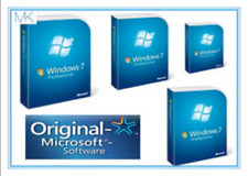 Microsoft Windows 7 Professional Version 32 & 64 Bit Lifetime Product Key Code