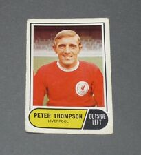 A & BC GUM CARD FOOTBALL ENGLAND 1969 PETER THOMSON LIVERPOOL REDS ANFIELD ROAD