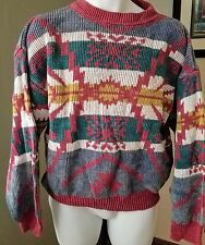 UnionBay Mens Fair Isle Long Sleeve Multi-Colored Sweater Size Small