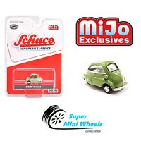 Schuco 1:64 European Classics - BMW Isetta (Green with cream roof)