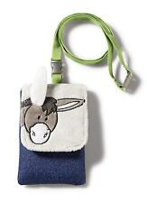 Nici 35526 Cell Phone Case Donkey Gift Carrying Strap Plush / Polyester,12 x 8