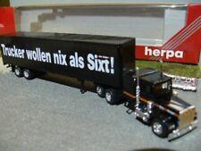 1/87 Herpa Peterbilt Sixt US Truck 141604