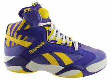 Reebok Men's Leather Basketball Athletic Shoes