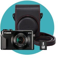 Canon PowerShot G7X Mark II schwarz Premium Kit