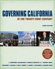 SALE! Governing California in the Twenty-First Century by Anagnoson & Bonetto