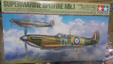 Tamiya 1/48 Supermarine Spitfire Mk.I Model Air Plane Kit #61119