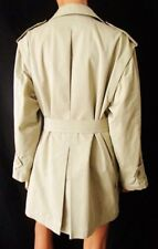 ***SPORT MAX TRENCH Spolverino GIACCA JACKET TG.42 in misto cotone colore beige