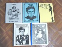VINTAGE BLAKE'S 7 FANZINE LOT OF 4 BOOKS 1 MAG DIFFERENT FREE SHIPPING!  LOT 186