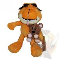 Garfield - Garfield con orsetto peluche misura 1 (23x10x12)