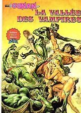 CONAN (ARTIMA COLOR MARVEL GEANT) LA VALLEE DES VAMPIRES AREDIT 1981 BE
