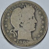 1905 Barber Quarter About Good