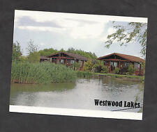 Posted c2000 View of Cabins, Westwood Lakes, Boston, Lincolnshire