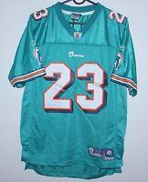 Miami Dolphins NFL shirt jersey #23 Brown Reebok KIDS Size L
