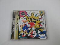 Sonic Jam Segasaturn Japan Ver Sega Saturn