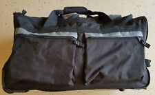 """Olympia Duffle  Bag  26"""" -  Wheeled Rolling with Retractable Handle"""