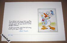 "Carl Barks Kunstdruck: ""Donald Duck: Good Luck in 1995""- AP 11/20, signiert"