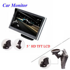 "5.0"" TFT LCD 16: 9 800 * 480 Screen 2 Way Video Input Monitor For Reverse Camera"