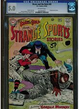 Brave And The Bold #49 Cgc 5.0 Dc Comics 1963 Stange Sports Stories Off White Pg