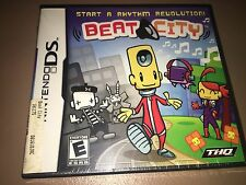 Beat City - Nintendo DS Game - Brand New!!  Factory Sealed!!