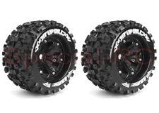 """Louise RC 1/8 MT Uphil 3.8"""" tires w/ 17mm hex 1/2 Offset wheels 2pcs  #L-T3219BH"""