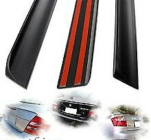 Boot LIP SPOILER Subaru Liberty 2004 -Matte Black