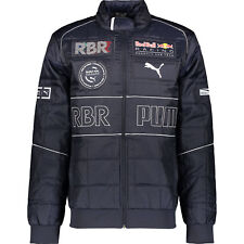 PUMA Men's RED BULL RACING Navy Branded Puffer Jacket, size SMALL