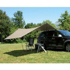 Eurotrail Tarp Carside Car Campervan SUV Camping Sun Shelter Beige 365x365cm