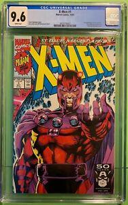 X-MEN #1 D (10/'91) CGC 9.6 NM+ JIM LEE COVER & ART 1st APPEARANCE OF ACOLYTES