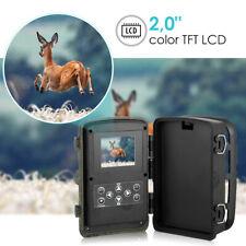 Wildkamera 1080P+16MP IR Nachtsicht Wasserdicht Jagdkamera Fotofalle 120° IP65