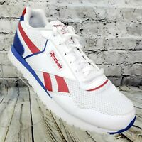 Reebok Classic Harman Run Womens Sneaker Shoes Size 10 White Blue Red   EF8581
