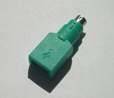 2 Stück USB auf PS2 Adapter von Microsoft