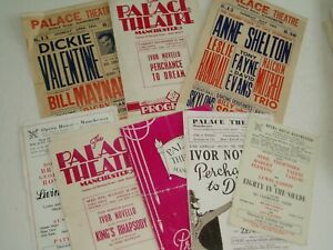 THEATRE PROGRAMMES.... x 9.....all 1940-50s....Manchester