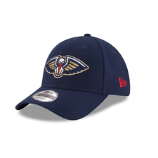 New Era 9FORTY NBA New Orleans Pelicans Blue The League Curved Peak Baseball Cap