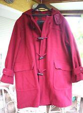 Vintage Garnet VALENTINO Duffle Coat (TRENKA, TRENCA). Early 90, Good Condition!
