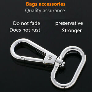 Wholesale hook buckle spring buckle luggage dog buckle 360° rotating keychain