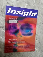 Night: Wiesel by Sabrina Chukman (Paperback, Text Guide, 2000)p4