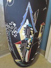 KETO Keramik Bodenvase, 47 cm!!!, huge floor vase, West German Pottery, 1950ties