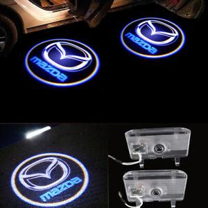 LED Door Light Projector Courtesy Logo Emblem HD M6 For MAZDA 6 ATENZA 2014-2016