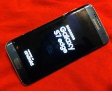Samsung Galaxy S7 edge G935T 32GB Blue T-Mobile PARTS REPAIR BROKEN SCREEN GLASS