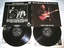 2 LP - Muddy Waters & The Rolling Stones Sweet Home Chicago - MINT FOC # cleaned