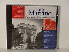CD ALBUM Chefs d oeuvre de la chanson francaise LUIS MARIANOCF 011  NEUF