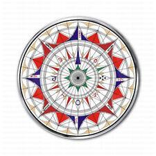 Wind Rose Aguiar Compass Nautical Emblem Sticker